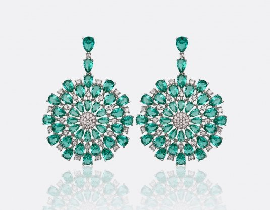 Turquoise Blast Earrings